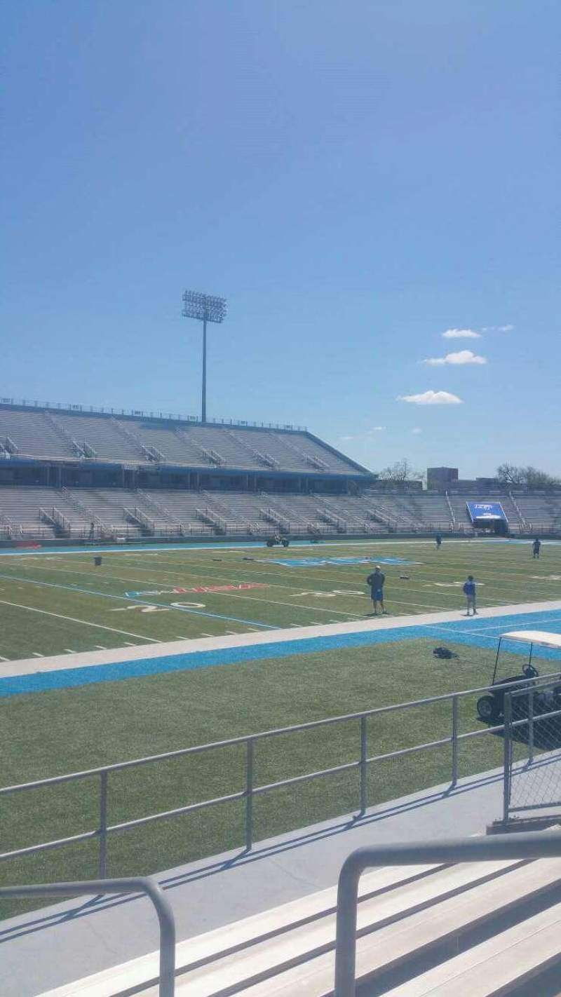 Seating view for Johnny Red Floyd Stadium Section 2T Row 6 Seat bleacher