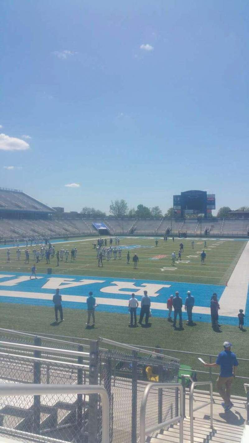 Seating view for Johnny Red Floyd Stadium Section 3A Row 13 Seat 25
