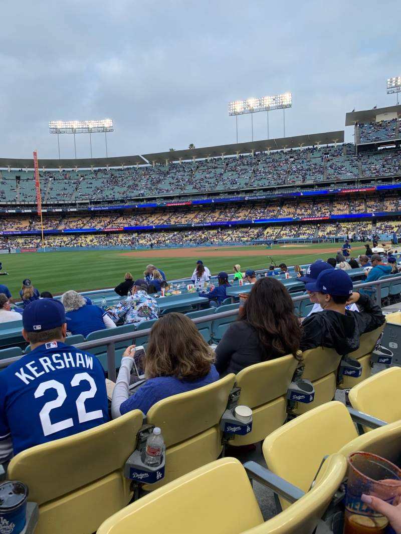 Seating view for Dodger Stadium Section 43FD Row C Seat 6