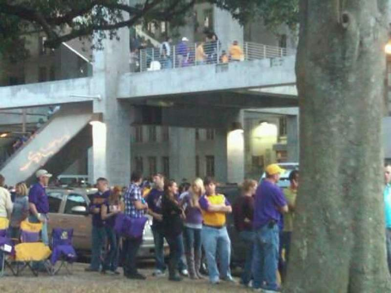 Seating view for Tiger Stadium Section Outside