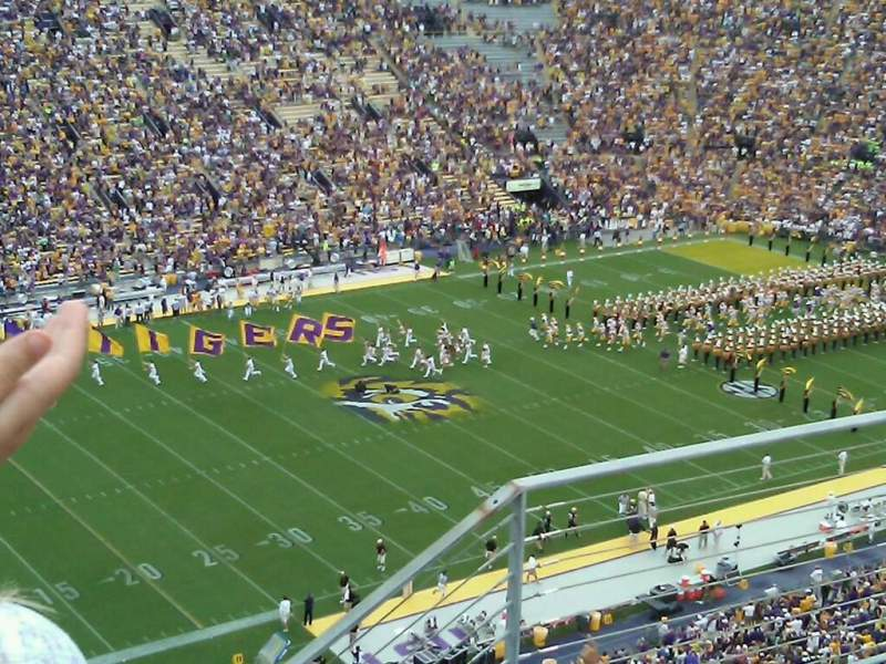 Seating view for Tiger Stadium Section 639