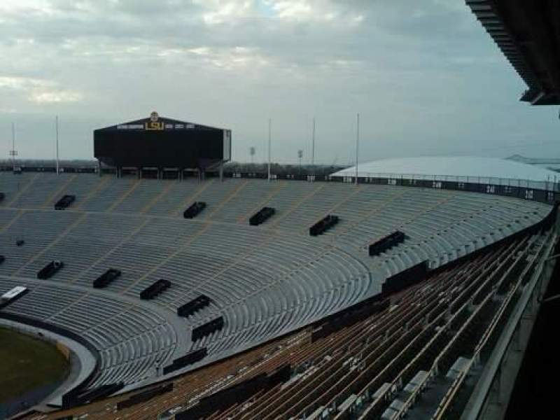 Seating view for Tiger Stadium
