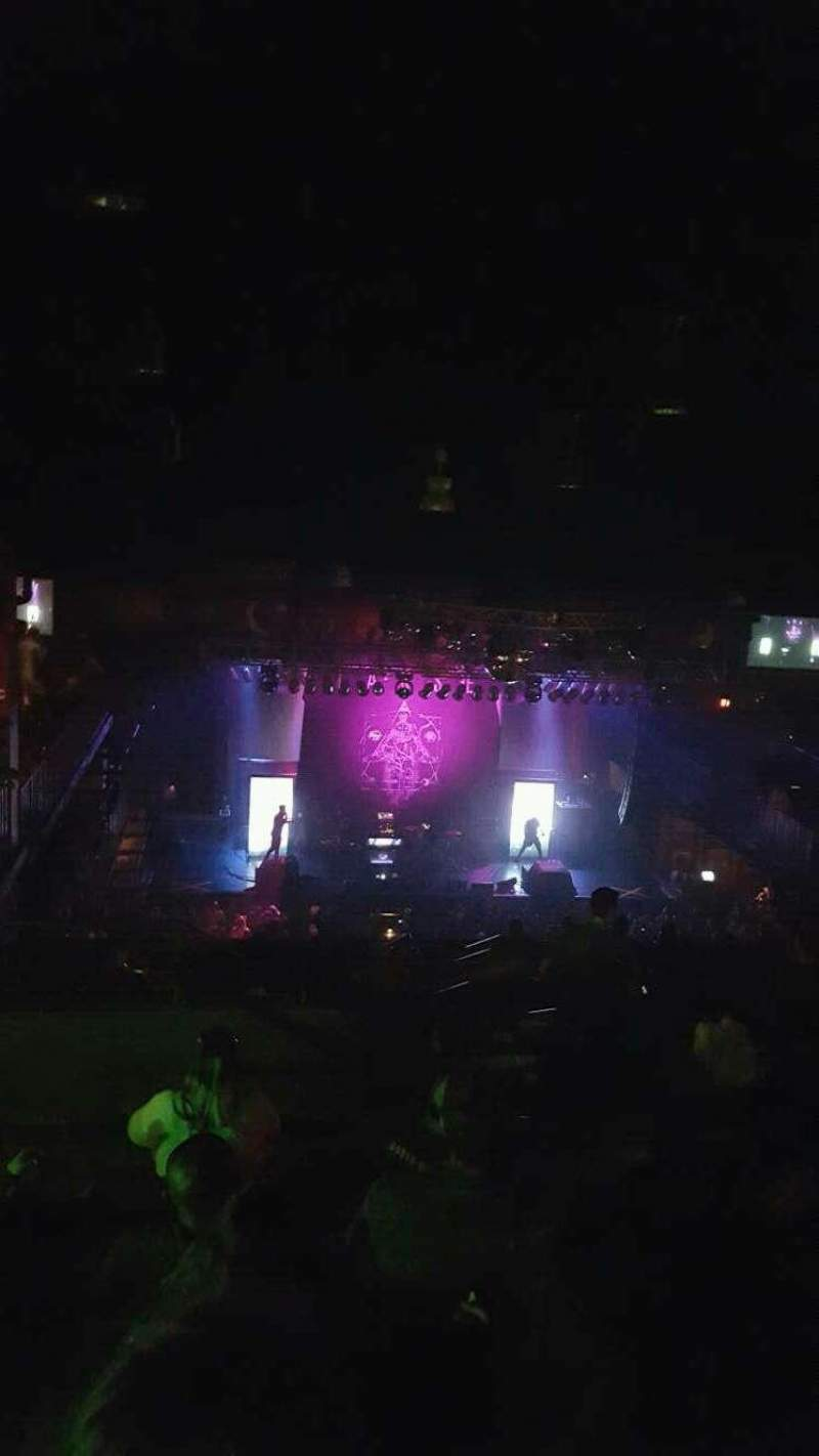 Seating view for House of Blues - Boston Section Stadium Row E Seat 322