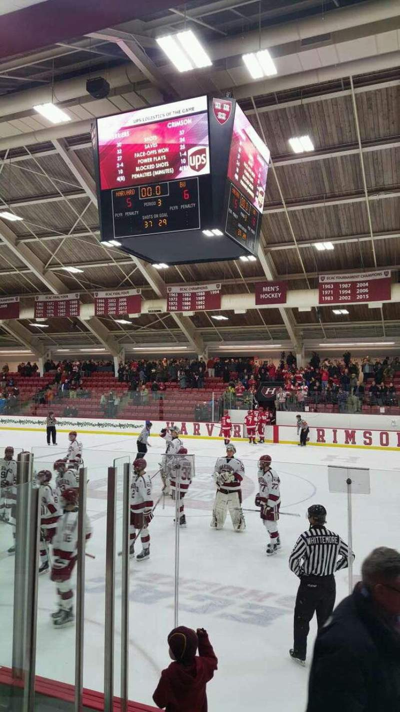 Seating view for Bright-Landry Hockey Center Section 18 Row E Seat 7