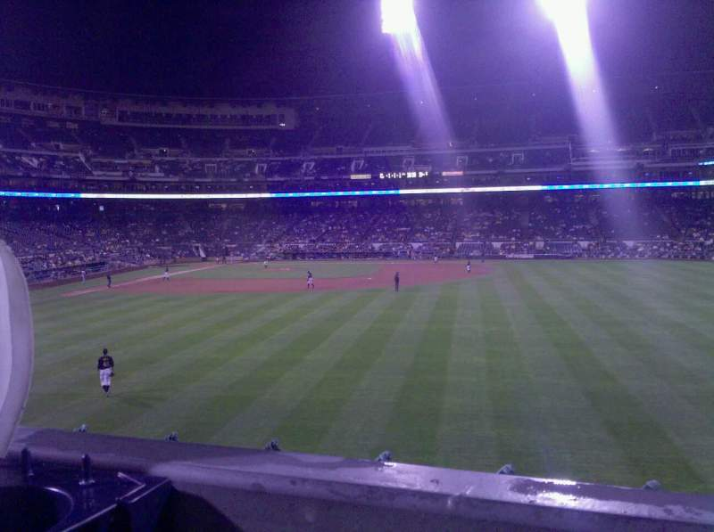 Seating view for PNC Park Section 142 Row A Seat 12