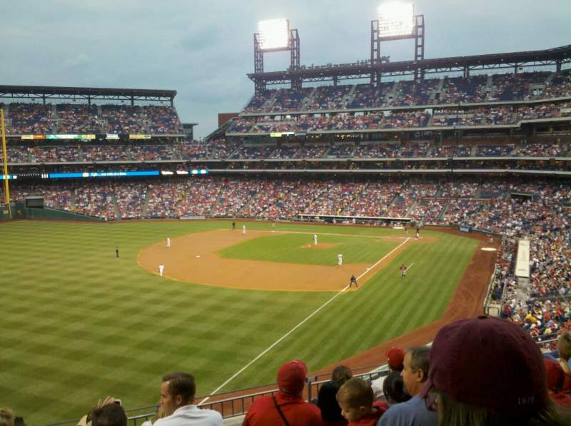 Seating view for Citizens Bank Park Section 236 Row 6 Seat 14