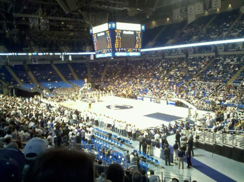 Seating view for Bryce Jordan Center Section 118 Row M Seat 108