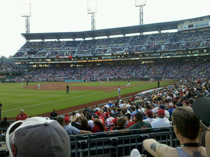 Seating view for PNC Park Section 130 Row D Seat 10