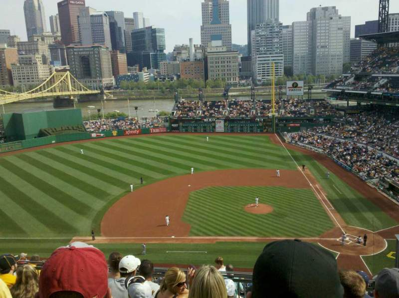 Seating view for PNC Park Section 322 Row M Seat 4