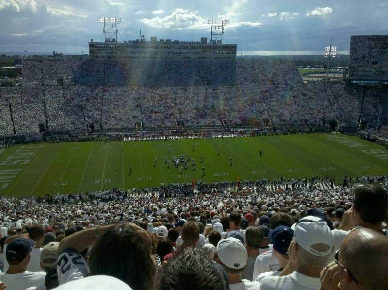 Seating view for Beaver Stadium Section EDU Row 80 Seat 32