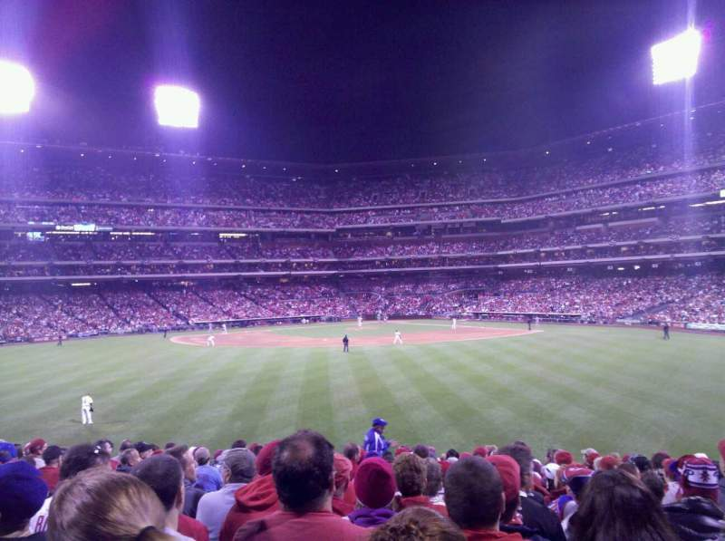 Seating view for Citizens Bank Park Section 147 Row 19 Seat 16