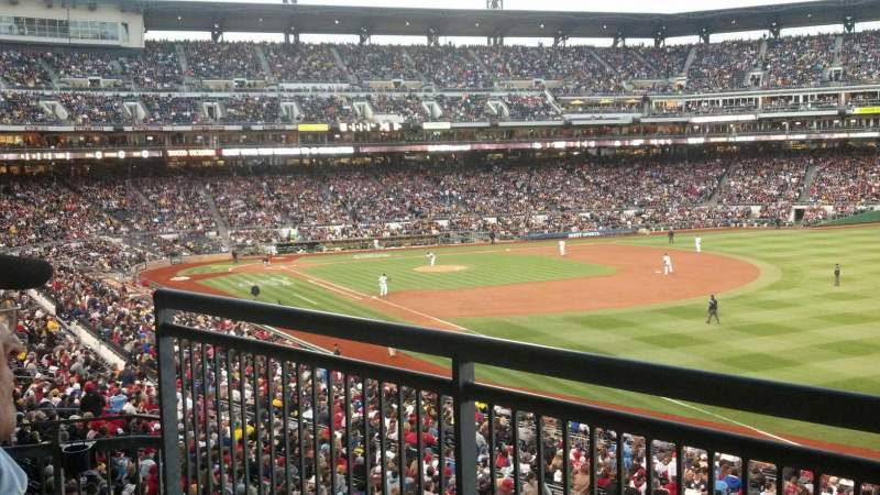 Seating view for PNC Park Section The Budweiser Bow Tie Bar
