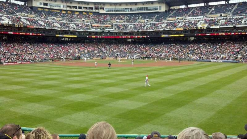Seating view for PNC Park Section 139 Row K Seat 14