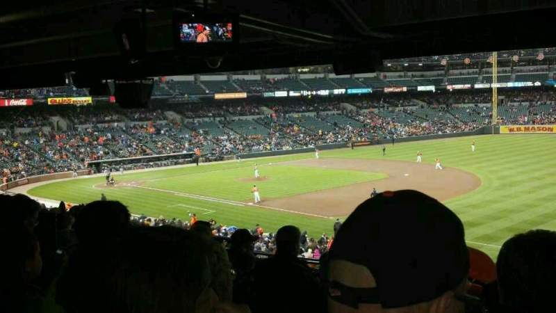Seating view for Oriole Park at Camden Yards Section 11 Row 12 Seat 15