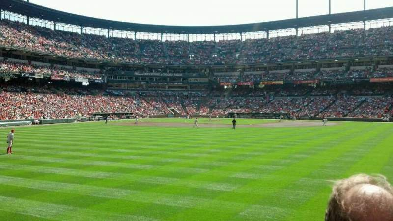 Seating view for Oriole Park at Camden Yards Section 94 Row 2 Seat 19