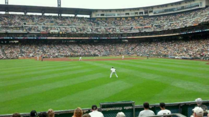 Seating view for PNC Park Section 137 Row SRO