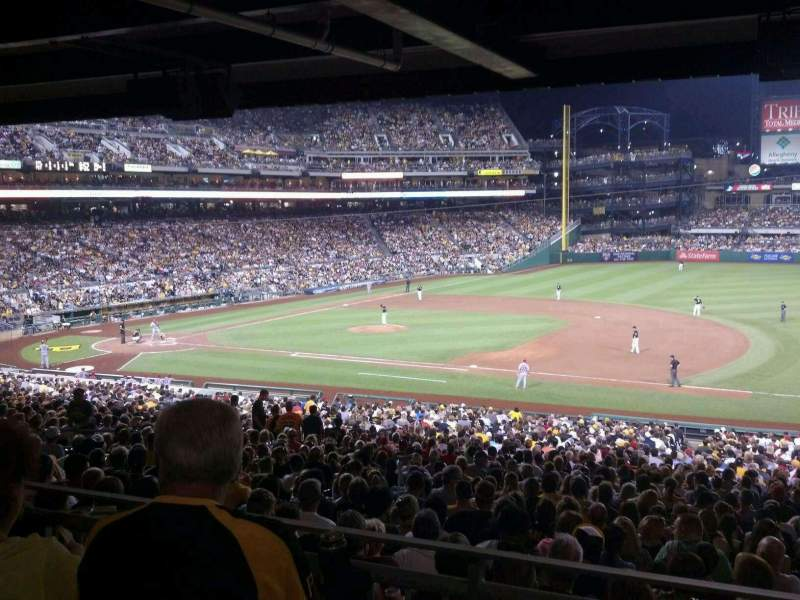 Seating view for PNC Park Section 108
