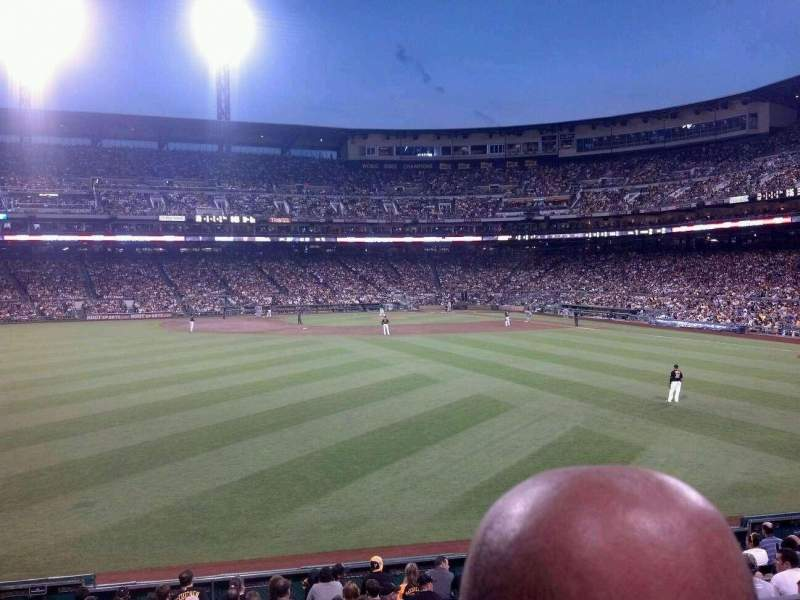 Seating view for PNC Park Section 237 Row B Seat 22