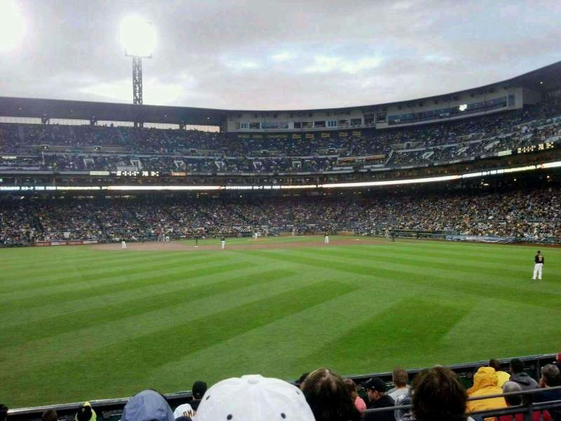 Seating view for PNC Park Section 137