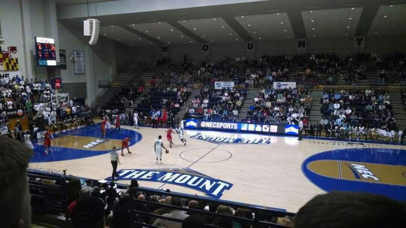 Seating view for Knott Arena Section 19 Row Q Seat 14
