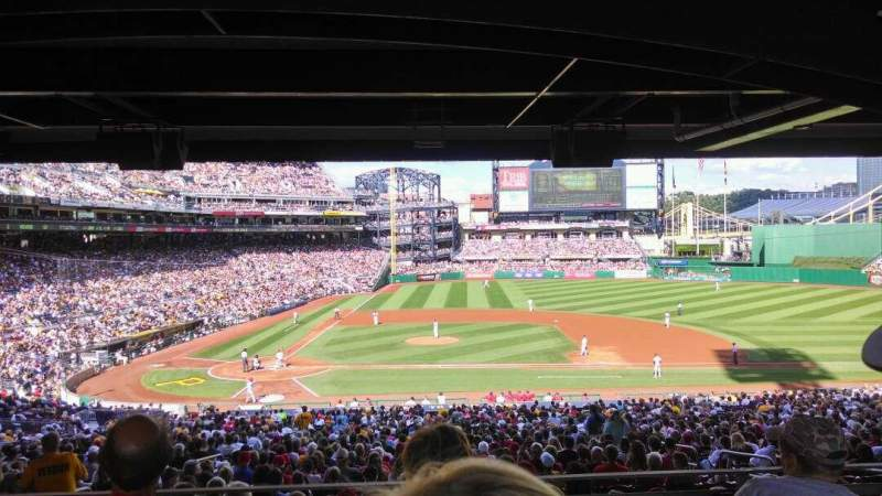 Seating view for PNC Park Section 112