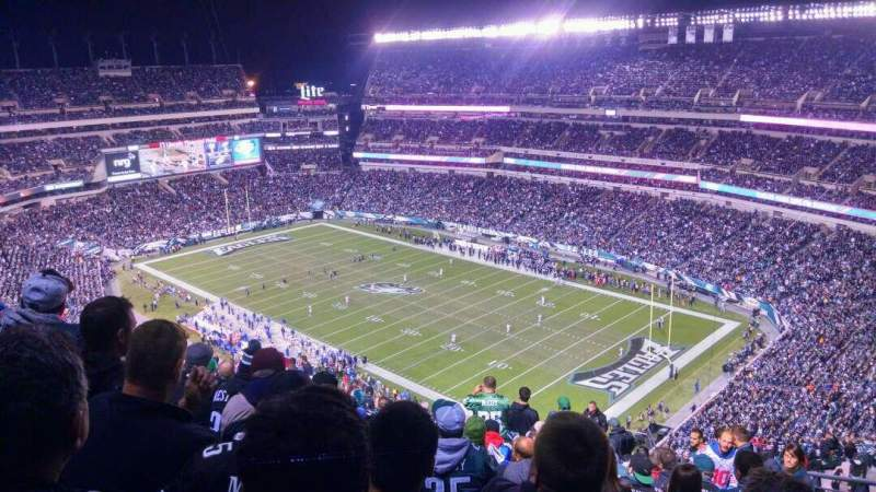 Seating view for Lincoln Financial Field Section 231 Row 23 Seat 4