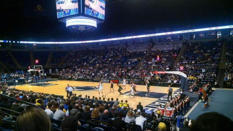 Seating view for Bryce Jordan Center Section 103 Row C Seat 8