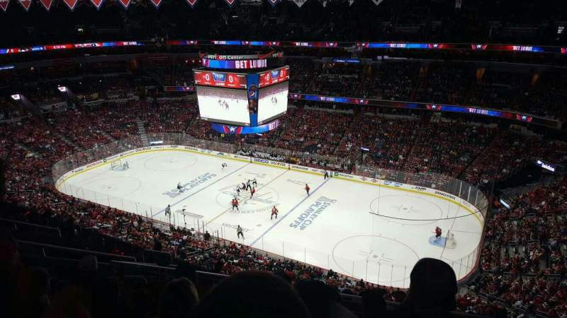 Seating view for Verizon Center Section 420 Row K Seat 10