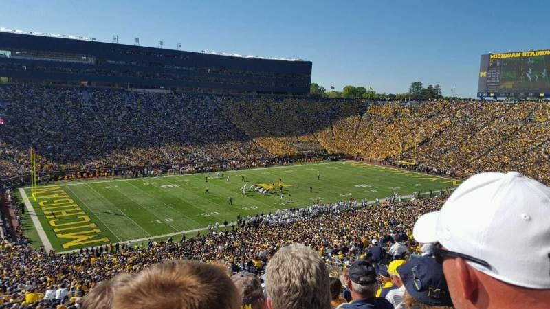 Seating view for Michigan Stadium Section 5 Row 86 Seat 3