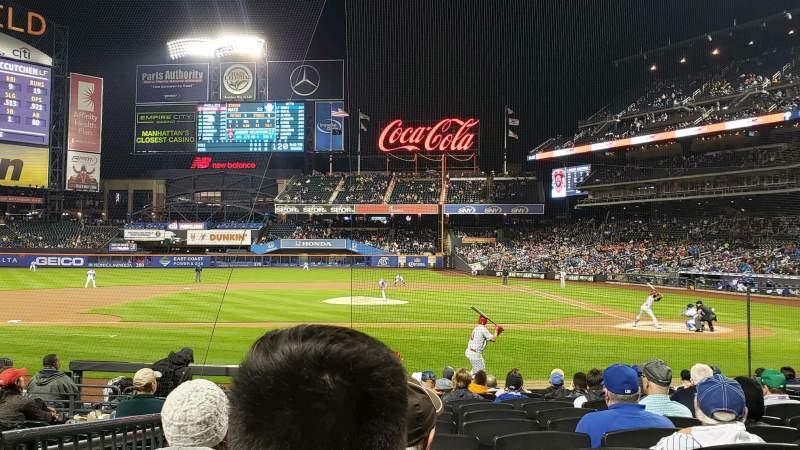 Seating view for Citi Field Section 19 Row 12 Seat 9