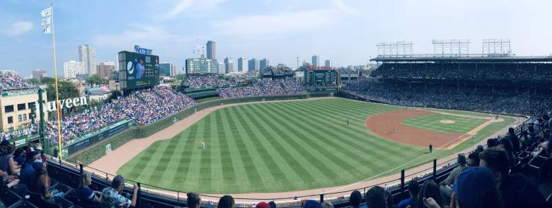 Seating view for Wrigley Field Section 305L Row 5 Seat 18
