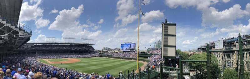 Seating view for Wrigley Field Section 232 Row 23 Seat 26