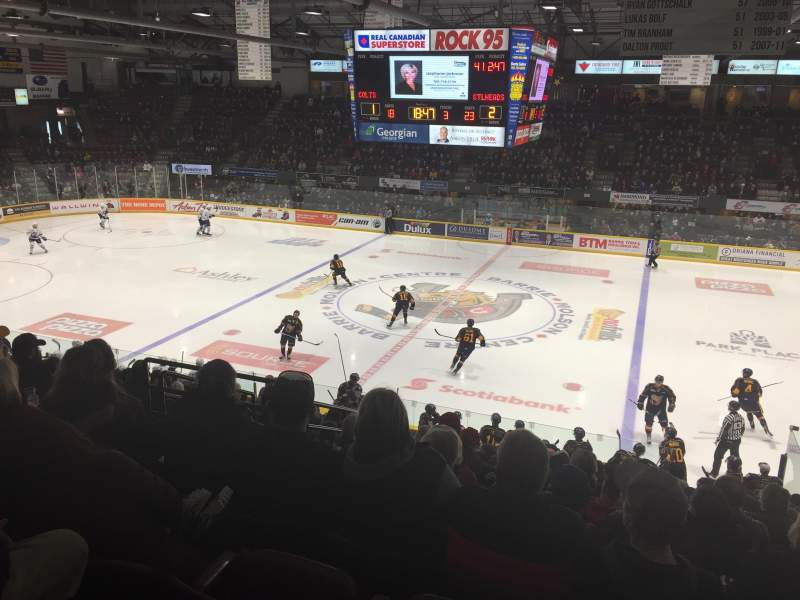 Barrie Molson Centre, home of Barrie Colts