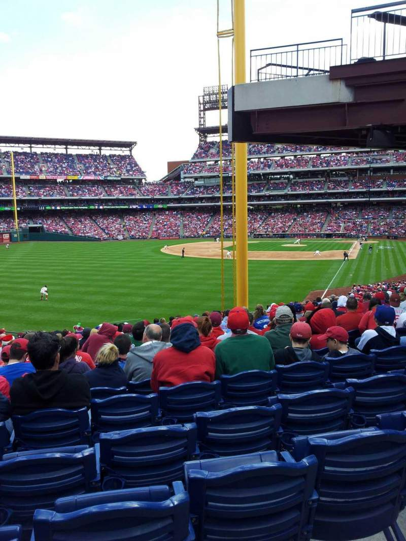 Seating view for Citizens Bank Park Section 141