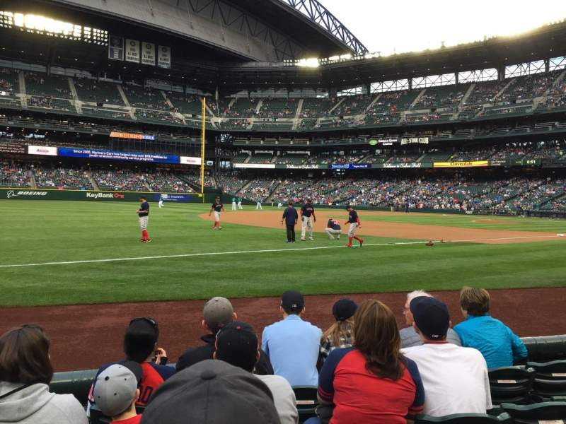 Seating view for Safeco Field Section 143 Row 5 Seat 11