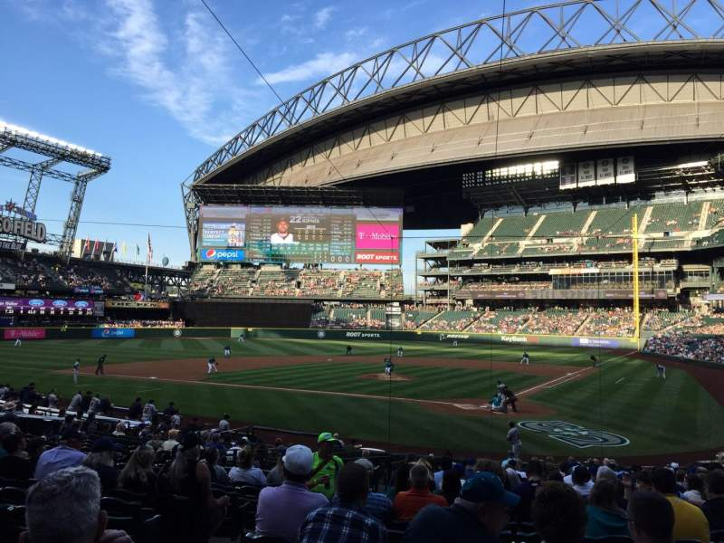 Seating view for Safeco Field Section 133 Row 24 Seat 7