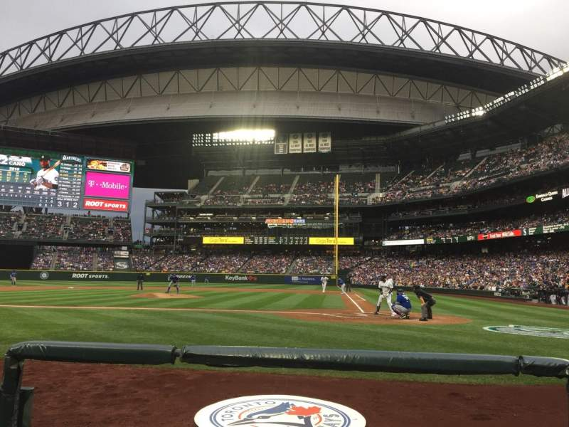 Seating view for Safeco Field Section 35 Row D Seat 4