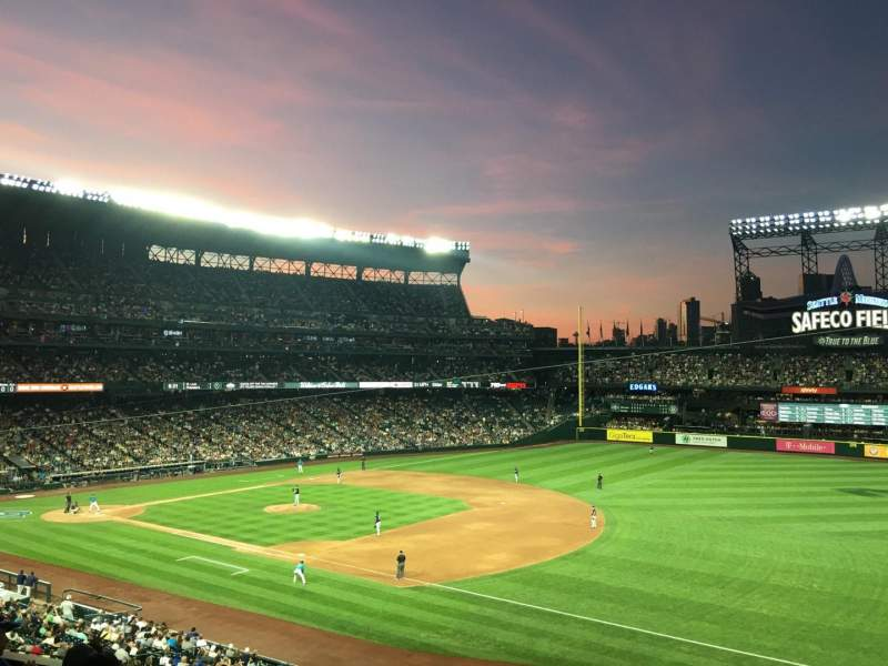 Seating view for T-Mobile Park Section 217 Row 5 Seat 4
