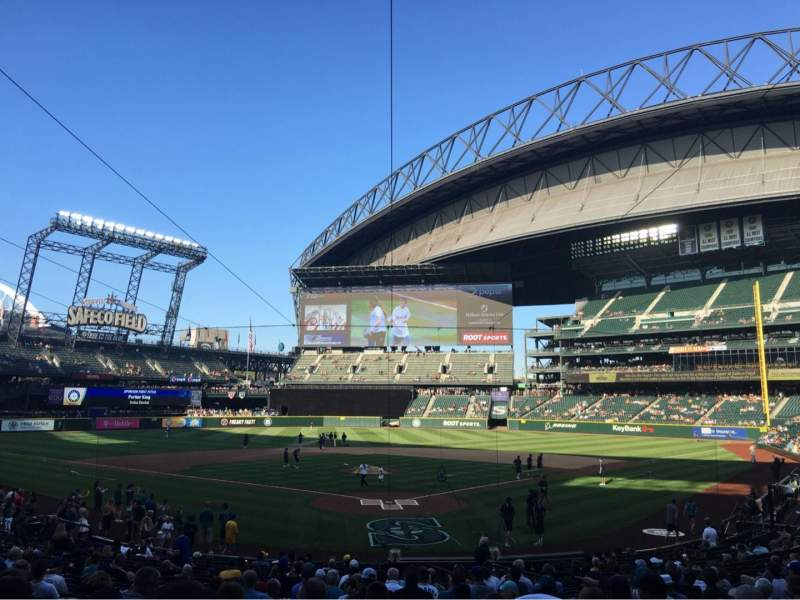 Seating view for Safeco Field Section 131 Row 26 Seat 8