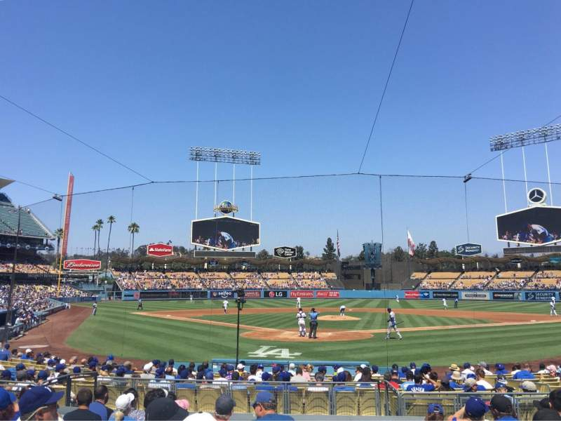 Seating view for Dodger Stadium Section 2FD Row K Seat 11
