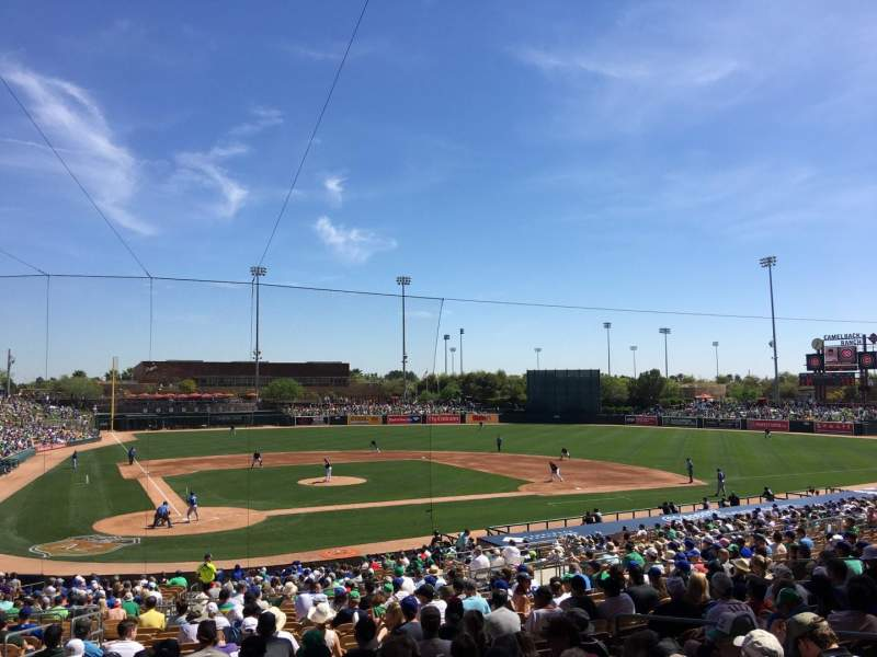 Seating view for Camelback Ranch Section 112 Row WCH Seat 10