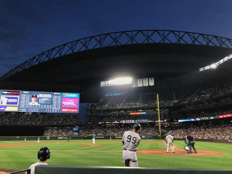 Safeco Field, section: 35, row: D, seat: 6