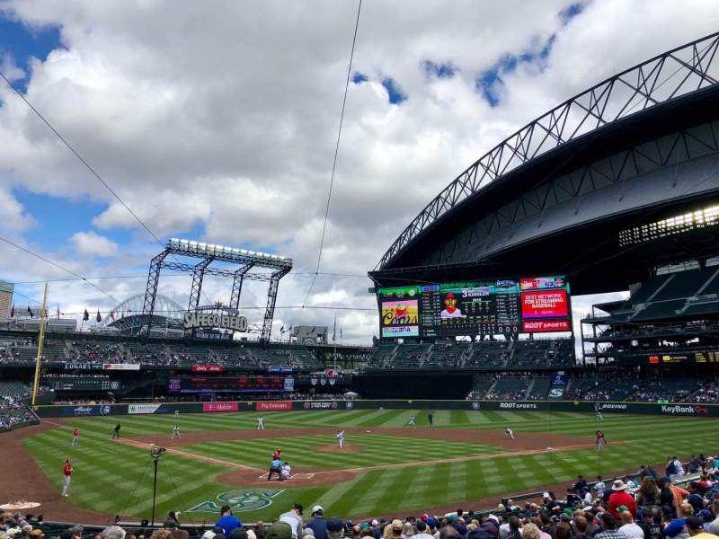Safeco Field, section: 128, row: 26, seat: 10