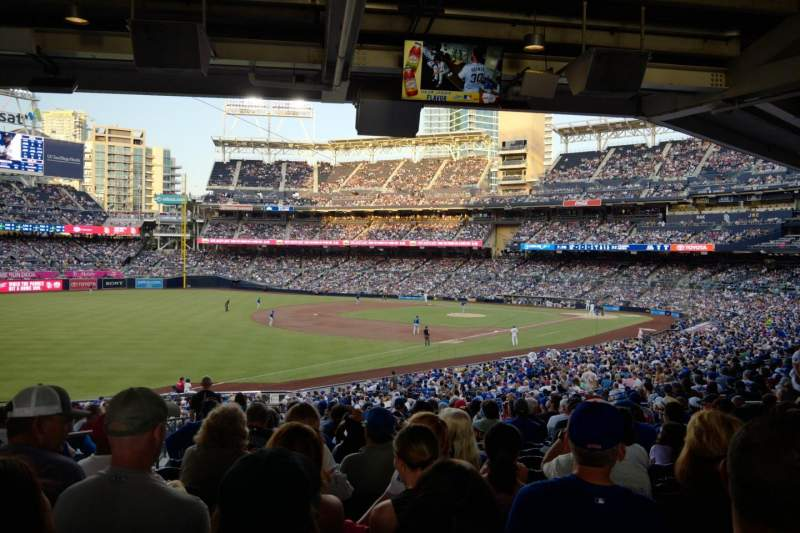 Seating view for PETCO Park Section 120 Row 42 Seat 20