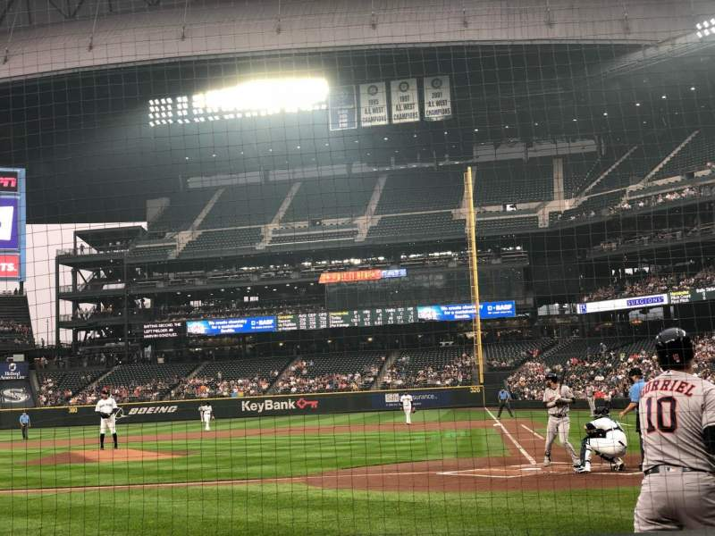 Seating view for T-Mobile Park Section 35 Row D Seat 5