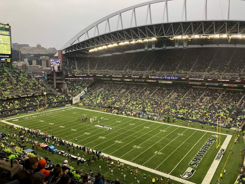 Seating view for CenturyLink Field Section 330 Row K Seat 2