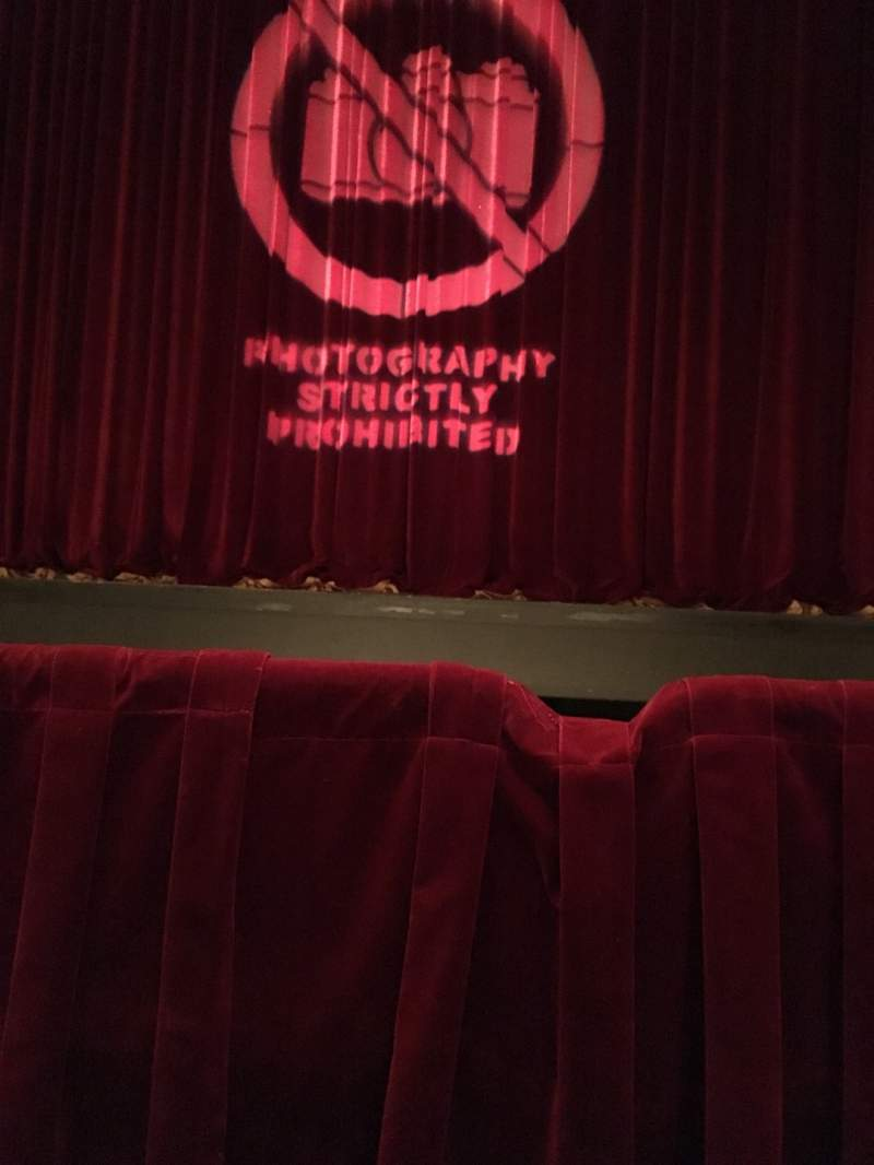 Seating view for Detroit Opera House Section Diamond Circle 2 Row 1 Seat 206