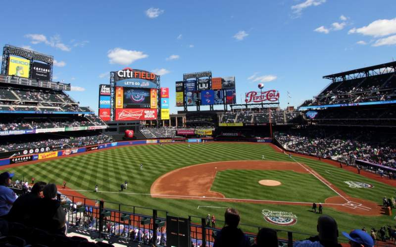 Seating view for Citi Field Section 326 Row 4 Seat 10