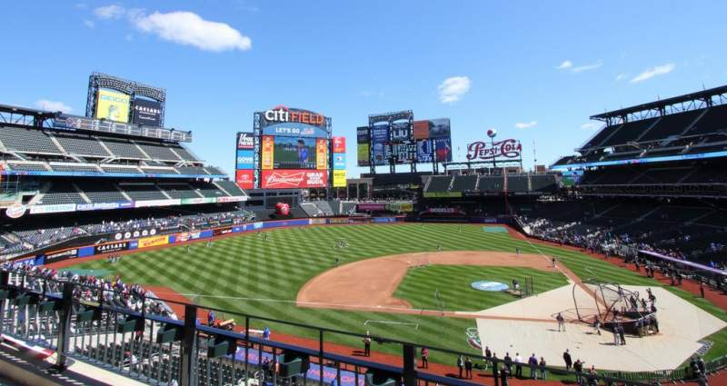 Seating view for Citi Field Section 326 Row 2 Seat 2