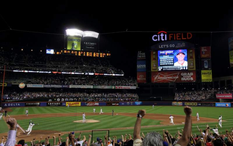 Seating view for Citi Field Section 13 Row 18 Seat 12